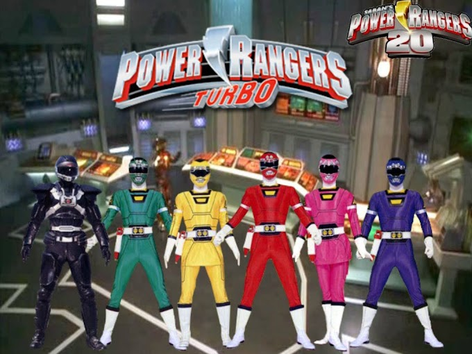 Power Rangers Turbo (Power Rangers Keempat) Generasi 90 Merapat!