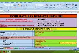 Contoh Pembuatan SKP Guru Menggunakan Aplikasi