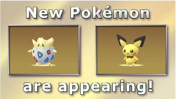 Resmi !! Niantic Tambahkan 100 Pokemon Baru di Pokemon Go