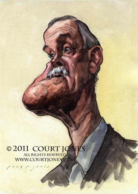 John Cleese por Court Jones