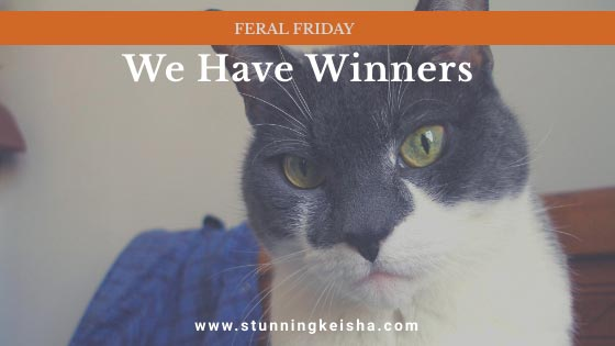 Feral Friday: We Have Winners