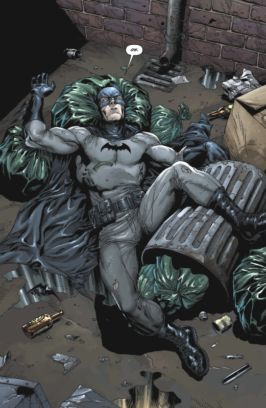 Batman: Earth One - By Geoff Johns, Gary Frank, Jonathan Sibal, Brad Anderson, Rob Leigh  Batman created by Bob Kane and Bill Finger