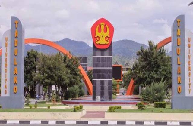 Daftar Perguruan Tinggi Negeri di Provinsi Sulawesi Tengah