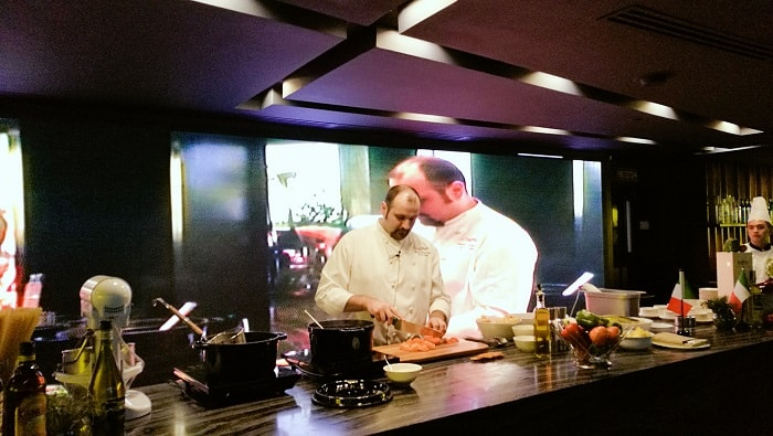 Experience the Master Cooking Demo with Chef Andrea Delzanno at Marco Polo Ortigas Manila