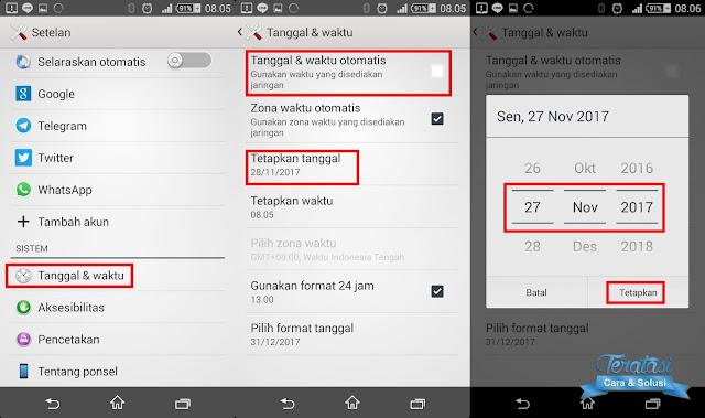atur tanggal dan waktu ke hari sebelumnya - trik rahasia menghapus pesan terkirim whatsapp tanpa batas 7 menit - teratasi.com