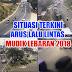 Update Informasi Arus Lalu Lintas Mudik Lebaran 2018