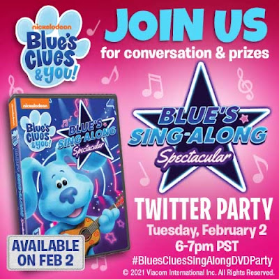 Blues Clues And You Twitter Party