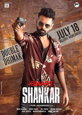 iSmart Shankar (2019) UNCUT Dual Audio Hindi 480p HDRip 450MB