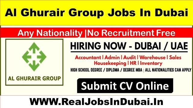 Al Ghurair Group Hiring Staff In Dubai UAE 2021