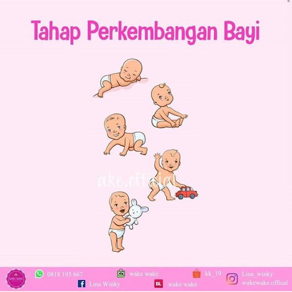 Inilah Tahap Perkembangan Bayi yang Harus Mommy Ketahui