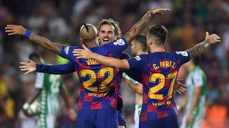 نتيجة مباراة برشلونة واوساسونا بتاريخ 31-08-2019 الدوري الاسباني