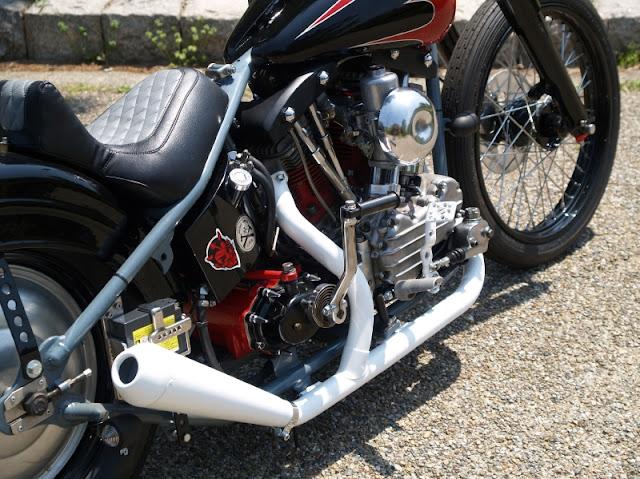 Harley Davidson Shovelhead By Motobluez Hell Kustom