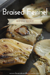 Braised Fennel with Mint