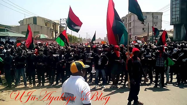 IPOB describes proscribing order as 'Black Market order'