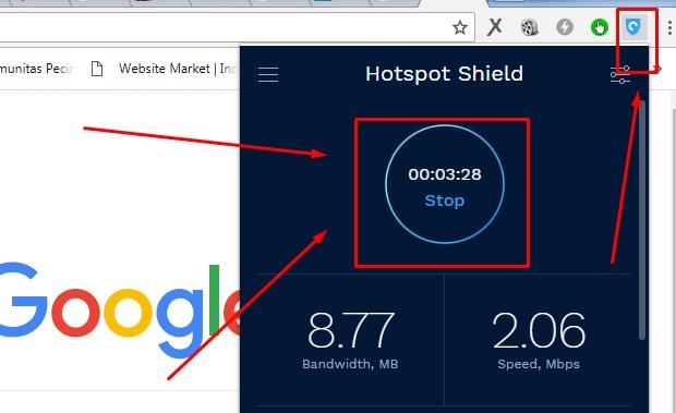 Cara Membuka Situs Yang Diblokir Internet Positif Dengan Hotspot Shield VPN 2019 7