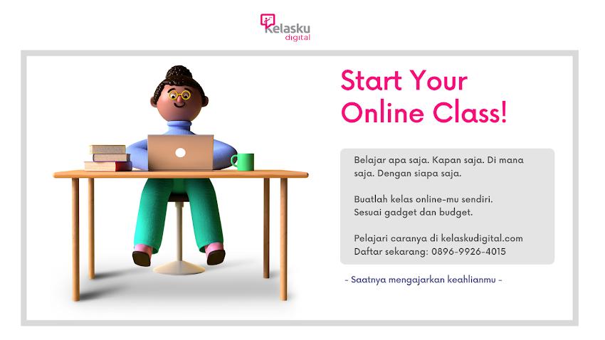 Pelatihan Membuat Kelas Online dari Nol