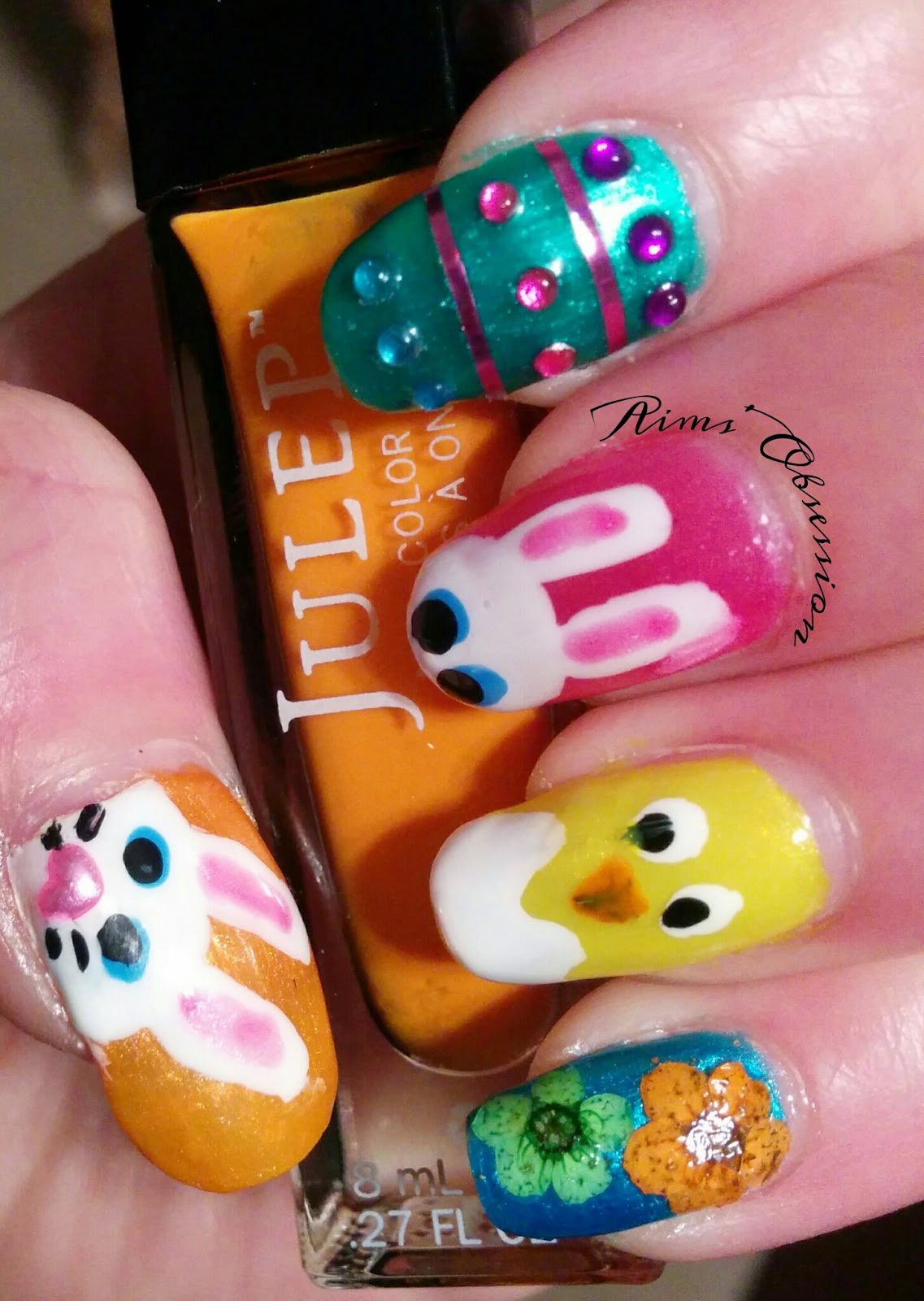 Aims' Obsession: Easter Nail Art