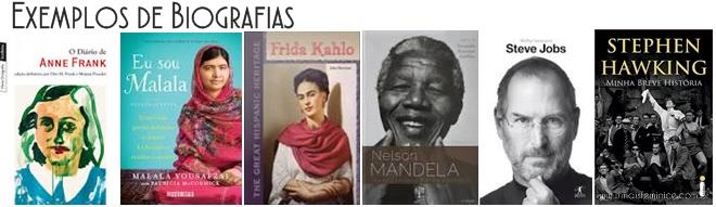 Livros Biografias