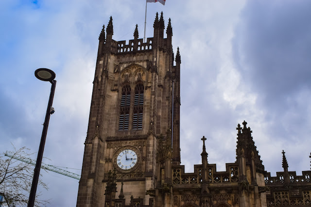 Exploring Manchester Cathedral