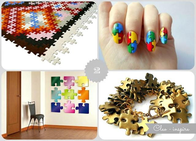 puzzle dekoracje diy