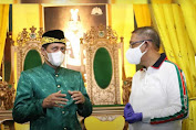 Istana Kadriah Kesultanan Pontianak Gelar Vaksinasi Massal, Sultan: Insyallah Aman dan Halal