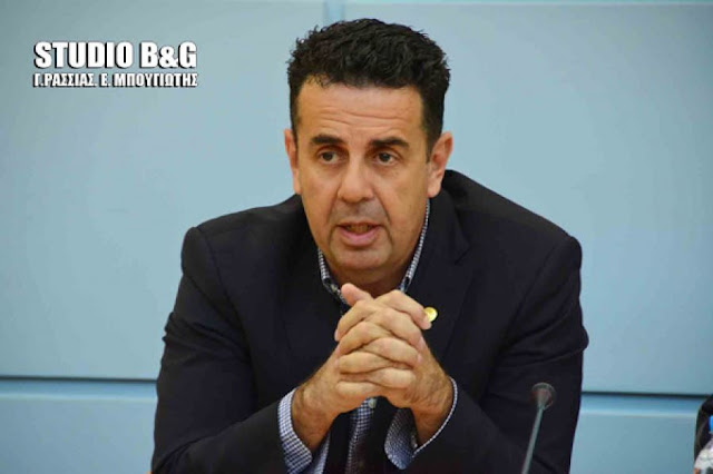 Ναύπλιο: Σε αφαίρεση αρμοδιοτήτων από τον Ρ. Μπαρού προχώρησε ο Δ. Κωστούρος