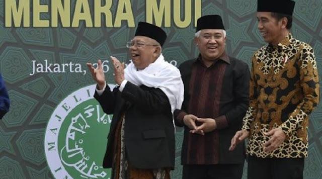 Din Syamsuddin: Sudah Seharusnya KH Ma'ruf Amin Mundur