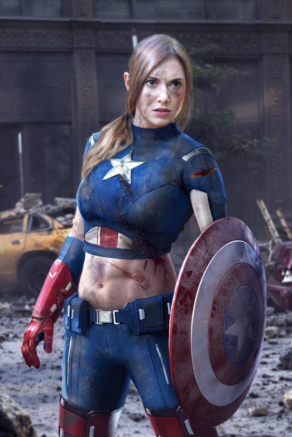 18+ Pt.Jensen Captain America A XXX Parody Blry 2020 English 720p HDRip 400MB
