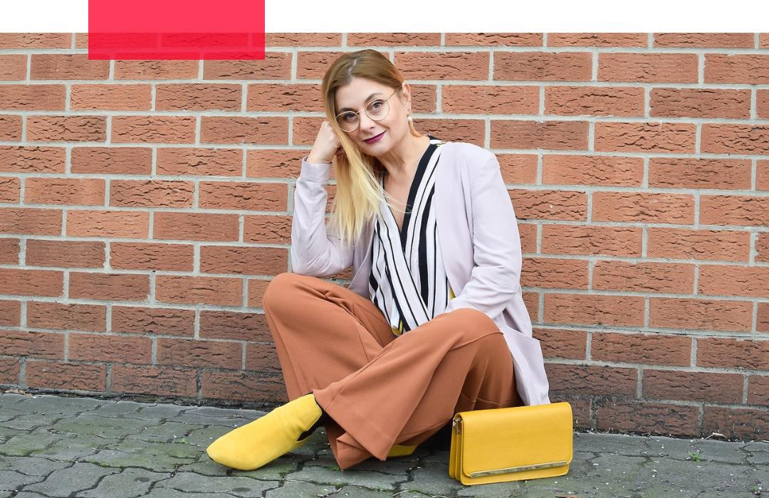 Gelb richtig kombinieren | Colorblocking