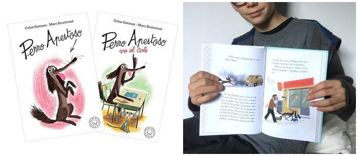 cuento infantil 5 a 8 años regalar Navidades Perro apestoso, primeros lectores