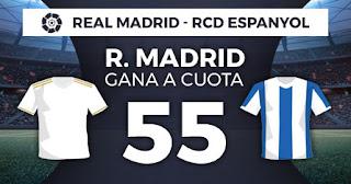 Paston Megacuota liga Real Madrid vs Espanyol 7 diciembre 2019