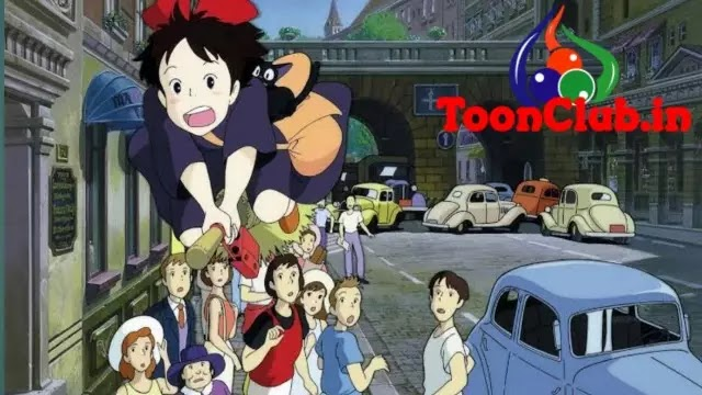 Kiki's Delivery Service in Hindi Dubbed Full Movie Download