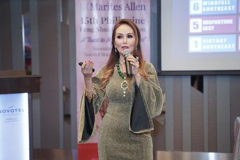 Ms. Marites Allen, Philippine's Feng Shui Queen