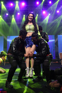 Sunny Leone Dancing on stage At Rogue Movie Audio Music Launch ~  117.JPG