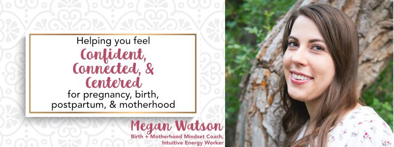 Birth mindset coach energy work for birth preparation