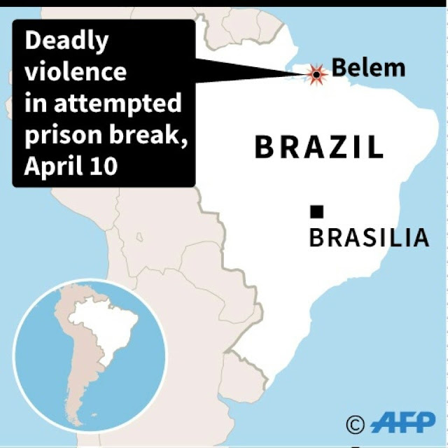 At least 21 killed in Brazil prison breakout