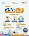 Happy Run & Bike Virtual Charity • 2021