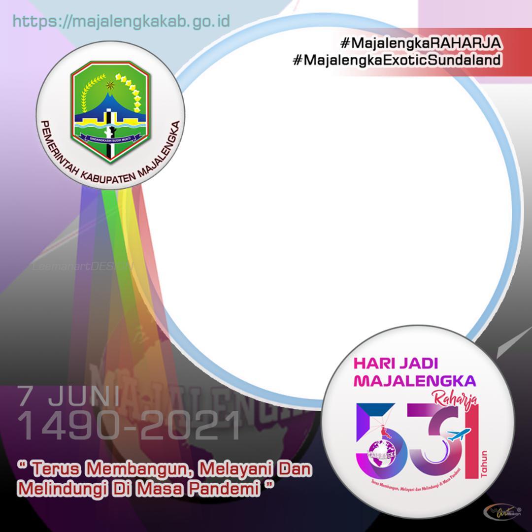 Link Download Bingkai Twibbon Hari Jadi Majalengka Ke-531 Tahun 2021 - Twibbonize