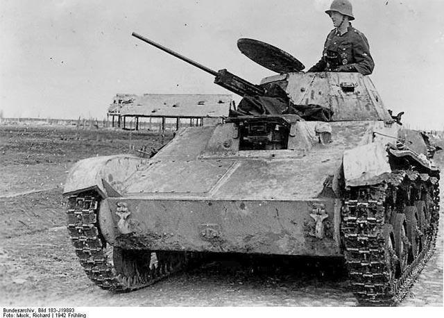German troops using a captured Soviet T-60 tank at the Kholm pocket 1942  worldwartwo.filminspector.com