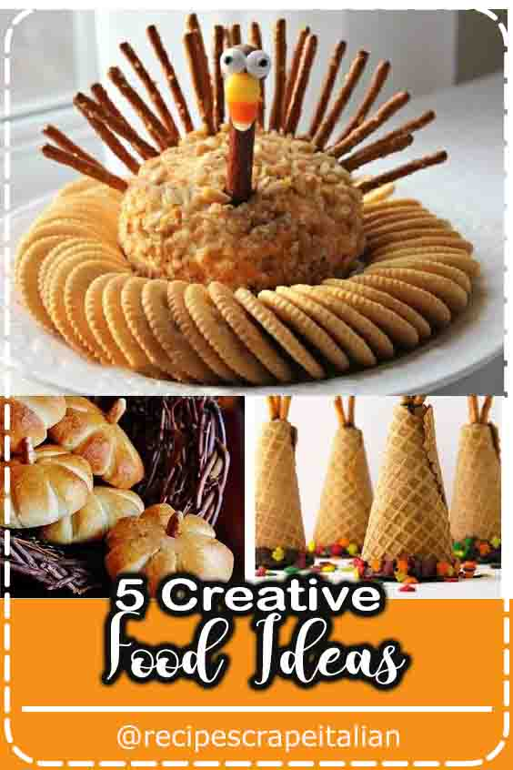 5 Creative Food Ideas #cake #food #easy #Healthy