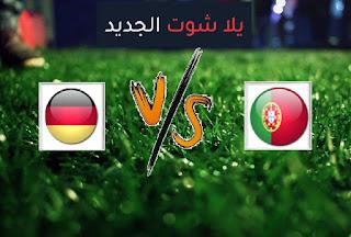 نتيجة مباراة البرتغال والمانيا اليوم السبت 19-06-2021 يورو 2020
