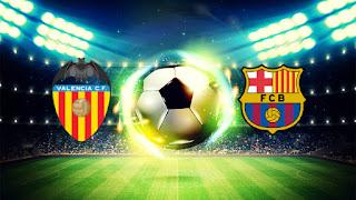 Барселона – Валенсия смотреть онлайн бесплатно 2019 прямая трансляция