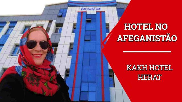 Hotel em Herat Afeganistão