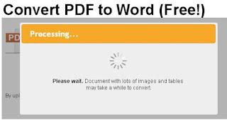 Mudahnya Merubah File PDF ke Word Tanpa Aplikasi