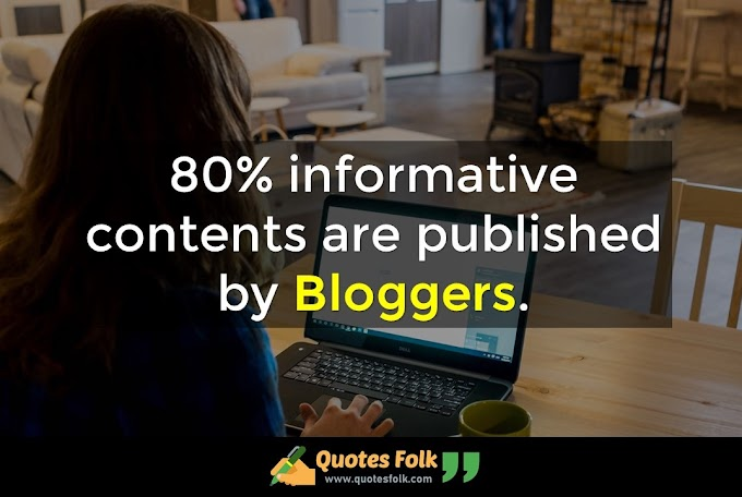 Quotes for Bloggers
