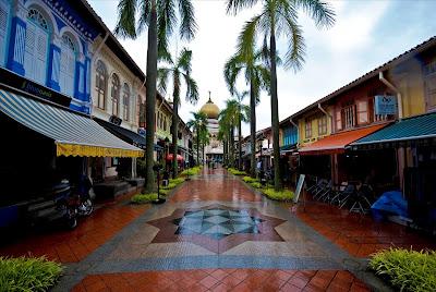 wisata singapore (arab sreet)