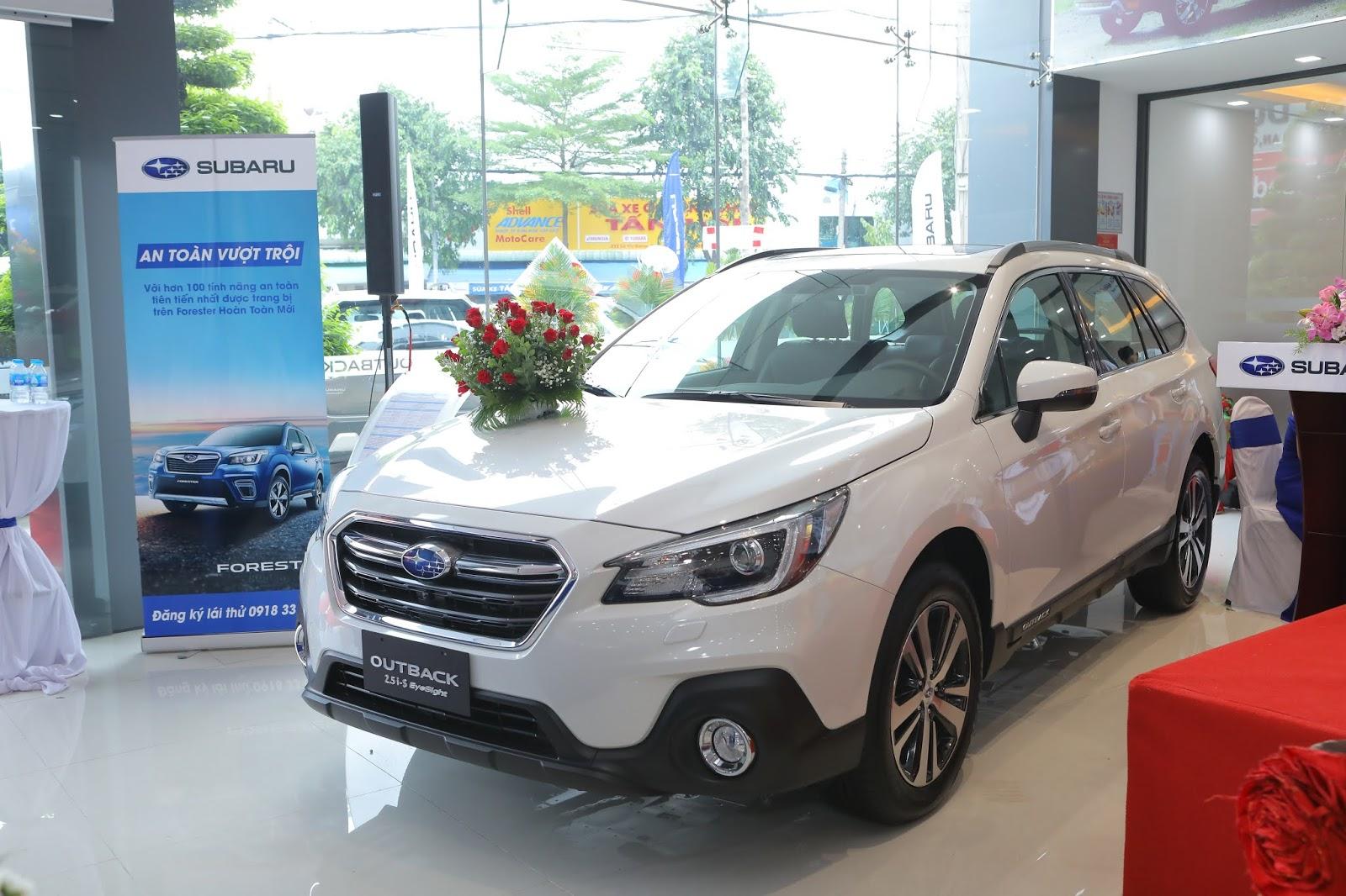 Khai trương đại lý Subaru Gia Định