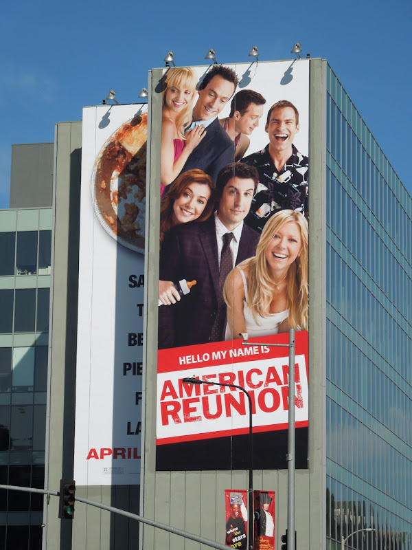 American Reunion movie billboard