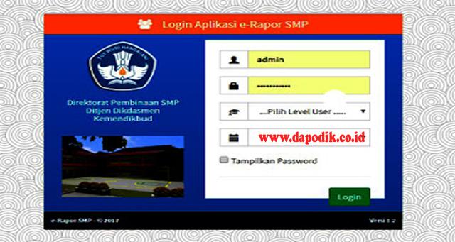 Panduan Cara Updater e-Rapor SMP Versi 2.0 To 2.1