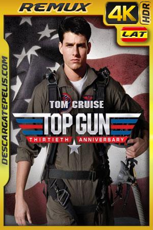 Top Gun (1986) 4k BDRemux HDR Latino – Ingles